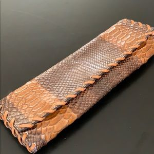 Kooba Embossed Leather Clutch